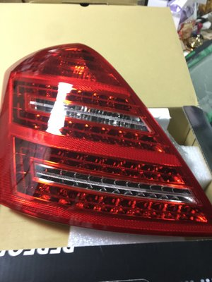 Mercedes W221 LED 左後尾燈