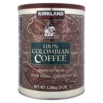 !costco代購 #373327 Kirkland Signature 科克蘭 哥倫比亞濾泡式咖啡 1.36公斤
