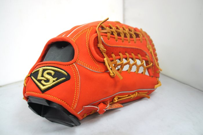 《星野球》Louisvelle Slugger 訂製版 棒壘球手套 日系紅 T網牛舌型