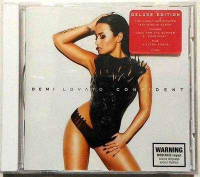 let it go 主唱 / 黛咪洛瓦特 Demi Lovato / 玩美自信Confident 豪華盤 /澳洲進口 破盤價 全新未拆
