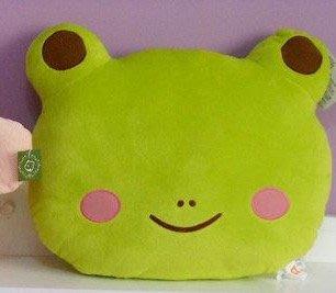 可愛青蛙抱枕卡通兔子公仔床上睡覺孕婦靠枕靠