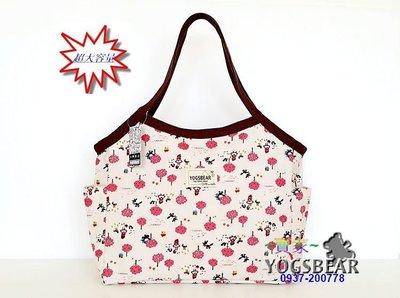 【YOGSBEAR】台灣製造 E 大容量 防水袋 手提袋 手提包 公事包 書包 媽媽包 旅行袋 YG03