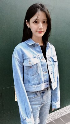 【STRIPES】爆款 Tommy Hilfiger Jeans 牛仔外套 胸口logo 19年款 韓妞必備 淺藍丹寧 單寧夾克 專櫃主打款7折 保證正品