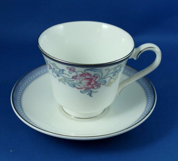[美]英國百年名瓷ROYAL DOULTON 骨瓷茶杯組CANTERBURY系列,全新次級品