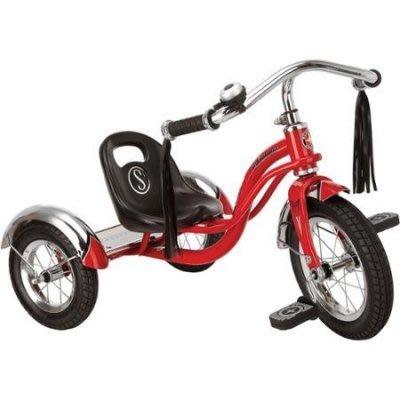 十八番通販部》SCHWINN ROADSTER TRIKE 12吋 兒童三輪車 兒童腳踏車 跑車 法拉利 #947397