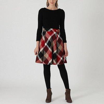 預購 日本限定 Blue Label crestbridge 毛混針織上衣 毛料裙 洋裝