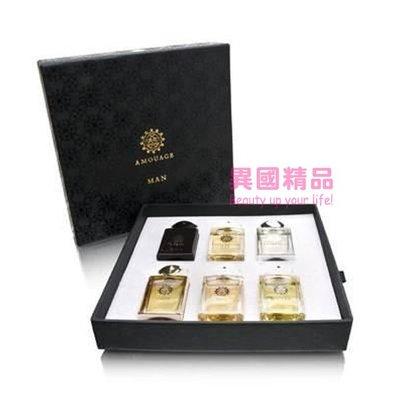 Amouage Fragrance Travel Bottle 男用小香六件禮盒組 7.5ml*6【特價】§異國精品§