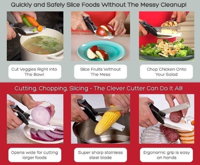 廚房剪刀、切菜神器、食物剪刀、不銹鋼、卡簧式✭CT百貨屋