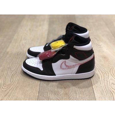 【Fashion SPLY】Nike Air Jordan 1 Defiant 拆線 Swoosh 拆勾 黑頭 黃勾