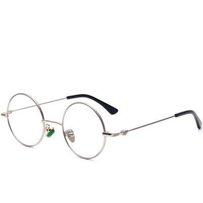 眼鏡 框 圓框 鏡架-韓版精選復古潮流男女平光眼鏡6色73oe69[獨家進口][米蘭精品]