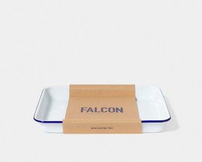 英國獵鷹琺瑯 FALCON SERVING TRAY 托盤 白色