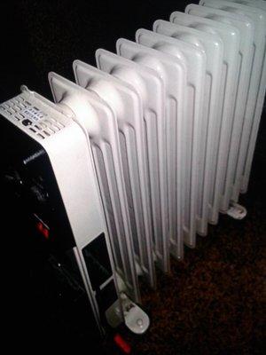 二手 北方葉片式電暖器德國製北方 10片299 1元起標