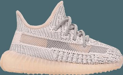 GOSPEL【Adidas Yeezy Boost350 V2 Synth Infan】粉天使鞋帶反光小童鞋FV5671
