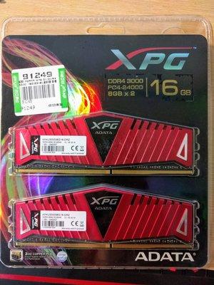 威剛 XPG Z1 DDR4 3000 16GB(8GB*2)