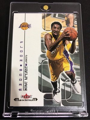 🐍2001-02 Fleer Maximum Floor Score #FS13 Kobe Bryant