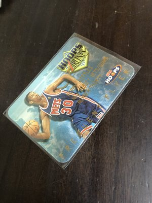 KERRY KITTLES  1998 HOOPS  FREQUENT FLYER  特卡 13  前後卡況如圖