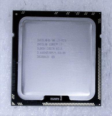 ~ 駿朋電腦 ~ Intel Core i7-920 2.66G  8M 1366腳位 四核八線 $500 桃園市