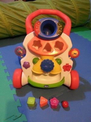 奇哥 chicco 學步車 形狀配對遊戲 combi 費雪 vtech