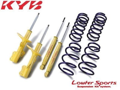 日本 KYB Lowfer Sports 黃筒 套裝 避震器 三菱 Global Lancer 00-07 專用