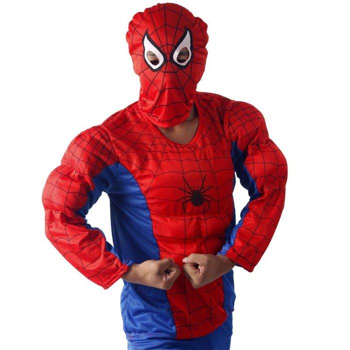 禧禧雜貨店-愛新奇兒童節 表演 蜘蛛俠衣服服裝 服飾 成人肌肉蜘蛛俠套裝#萬聖節道具#萬聖節裝飾#萬聖節服裝#萬聖節飾品
