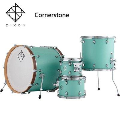 DIXON Cornerstone懸吊式北美楓木爵士鼓組-含支架/踏板/鼓椅/鼓棒/(不含銅拔)