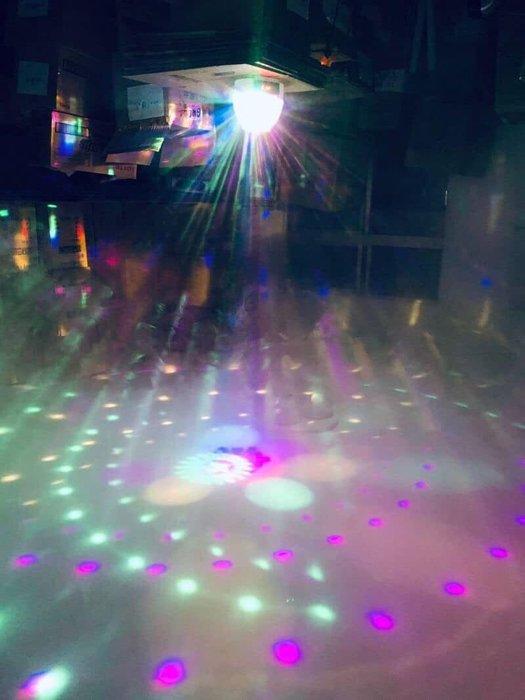 水晶魔球+圖案燈