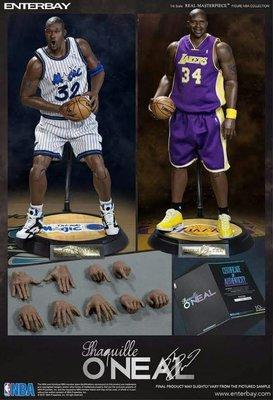 Enterbay NBA O'Neal 奧尼爾Enter bay RM-1063 Shaquille O'Neal 湖人隊雙Body版 一套兩隻