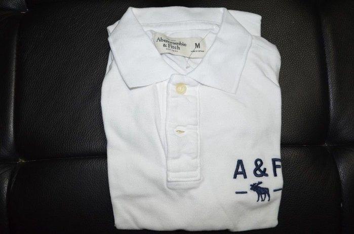 【西寧鹿】AF a&f Abercrombie & Fitch HCO POLO 絕對真貨 可面交 瑕疵品
