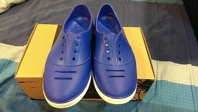 Praiaz 法國巴黎 海灘懶人鞋  水手鞋 寶藍色  非NATIVE CCILU CROCS