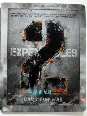 【BD藍光】浴血任務 2 一刀未剪版:限量鐵盒版Expendables 2 - 席維斯史特龍