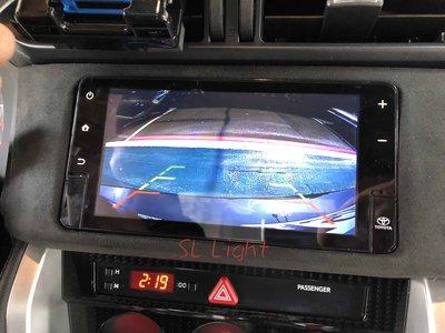 TOYOTA 86 支援GARMIN原廠主機 選配 倒車影像 倒車鏡頭 安裝 距離標線