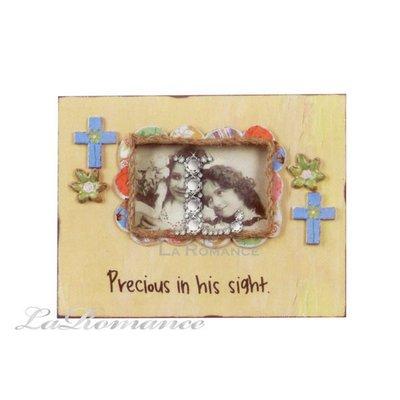 【Creative Home】Heart & Home 心戀家居系列童趣木製相框 - 黃