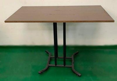 樂居二手家具(中)台中西屯二手傢俱買賣推薦 E120209*胡桃小餐桌 *2手桌椅拍賣 會議桌椅 戶外休閒桌椅 課桌椅