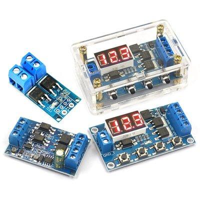 禧禧雜貨店 大功率MOS管場效應管觸發開關驅動板 PWM調節電子開關控制板模塊