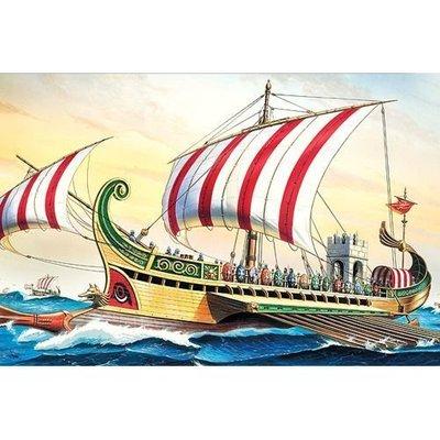創億RC BA14207 1/72 ROMAN WARSHIP CIRCA B.C 50 希臘軍船