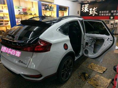 環球專業汽車音響# LUXGEN U6 GT GT220 四門隔音 制震寧靜工程.原裝俄羅斯STP頂級黃金版制震墊-04