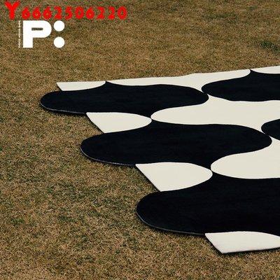 @遇見輕奢地毯 PRINT:HI專利設計UNLESS系列地毯沙發地墊北歐簡約地毯臥室床邊毯