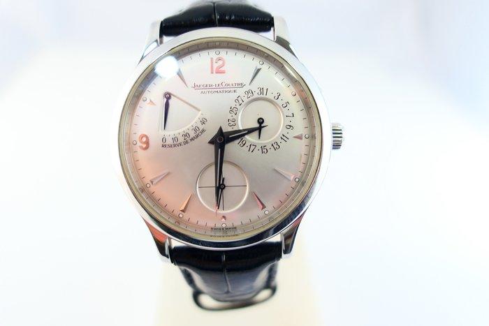 [吉宏精品交流中心]JAEGER-LECOULTRE 積家 白面 動力儲存 皮帶 自動機械 男錶