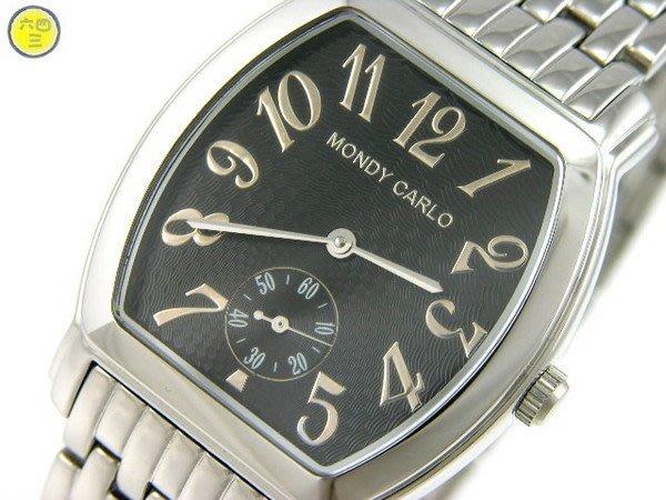 (六四三精品)MONDY(酒桶).自動上鏈.錶背鏤空日內瓦紋機芯.全不銹鋼.