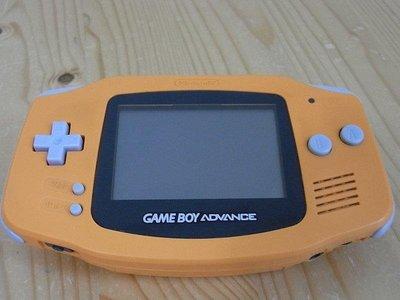 【小蕙館】電玩主機 ~ GAME BOY Advance (橘色) 再隨機贈4款遊戲