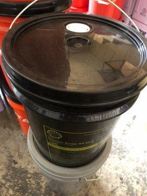 【殼牌Shell】Shell Vacuum Pump Oil S2 R100、真空泵潤滑油、18公升/桶【真空泵浦】