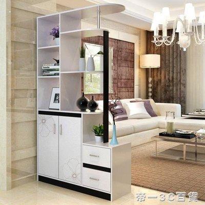耐家門廳櫃 雙面烤開門櫃簡約時尚門廳櫃歐式客廳玄關隔斷酒櫃IGO