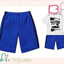 【B& G童裝】正品美國進口OLD NAVY 螢光藍色排汗運動短褲M號8-9yrs