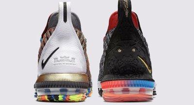11全新 Nike LeBron 16 LBJ16 What The BQ6582-900 鴛鴦籃 詹姆士大帝 周杰倫