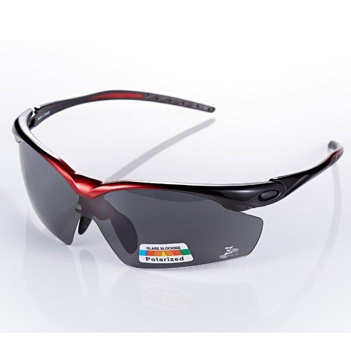 【視鼎Z-POLS太空纖維三代款】新一代TR彈性輕量材質搭載100%Polarized頂級偏光運動眼鏡!(五色可選)