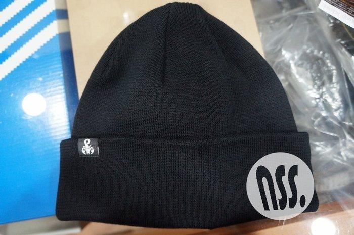 「NSS』SOPHNET SOPH 17 KNIT CAP 毛帽 黑