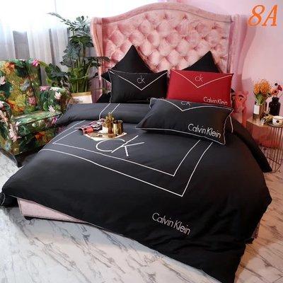 caLVin klein 限量版黑 被單床單 枕套被套被罩 單人床雙人床