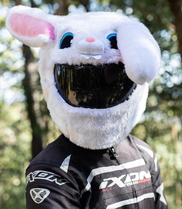【丹】A_Moto Loot Helmet Cover 安全帽套 芝麻街 寶貝兔