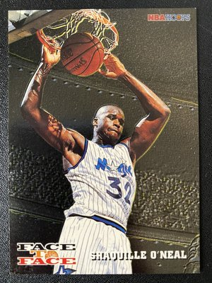 Shaquille O'Neal 1993-94 Hoops Face to Face #FTF1