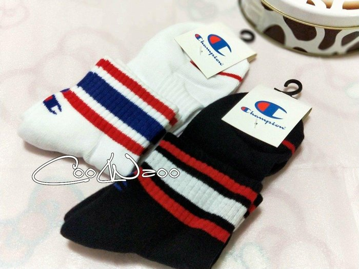 (購6雙免運)日本冠軍champion襪 復古 毛巾底加厚 籃球襪 中筒襪